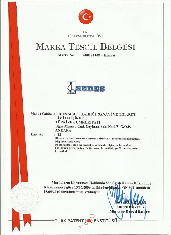 Marka Tescil Belegesi